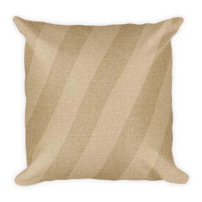 Burlap Stripes – Pillow