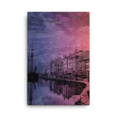 Docks – Canvas Print